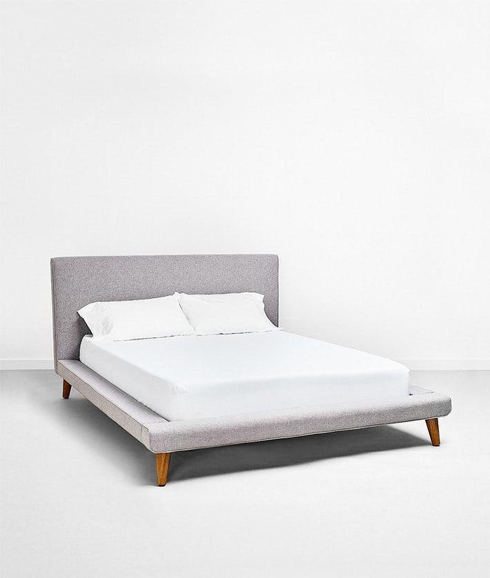 d06f25e7f1 Feather | Mod upholstered platform bed